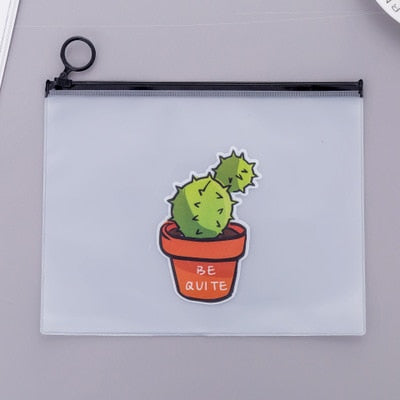 Cactus Cosmetic Travel Bags