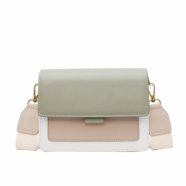 Color-Block Satchel (3 options)