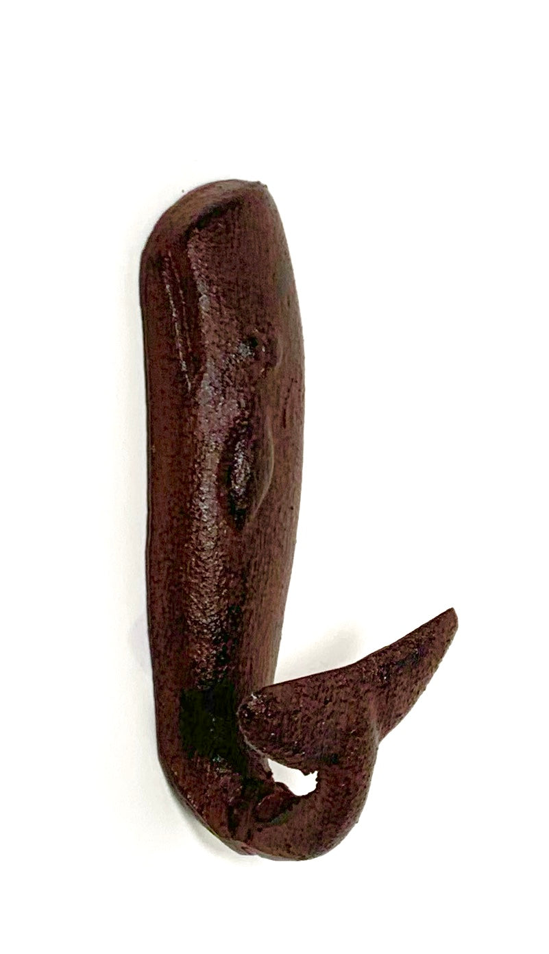 sperm whale wall hook