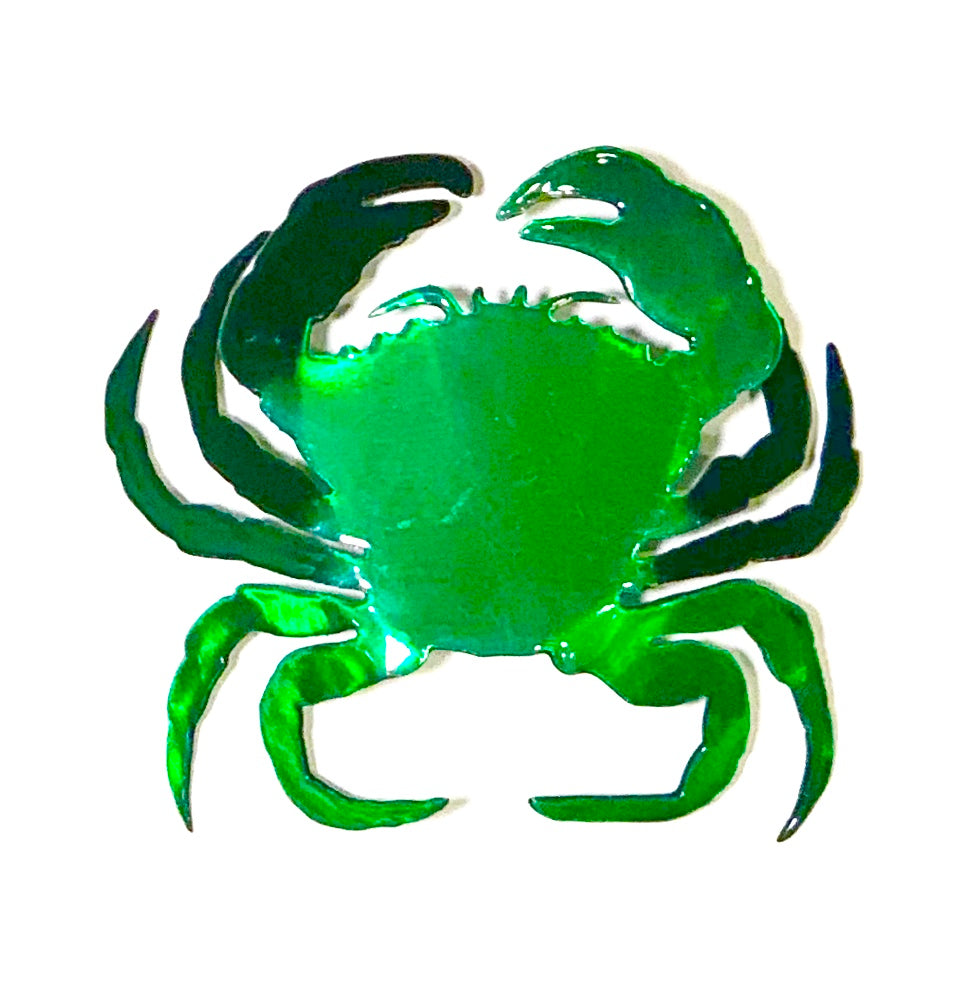 steel crab green