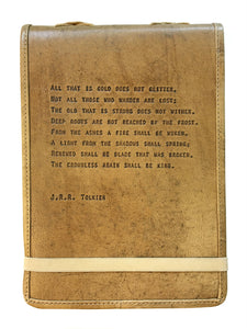 j.r.r. tolkien quote leather journal