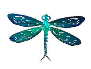 Metal art dragonfly