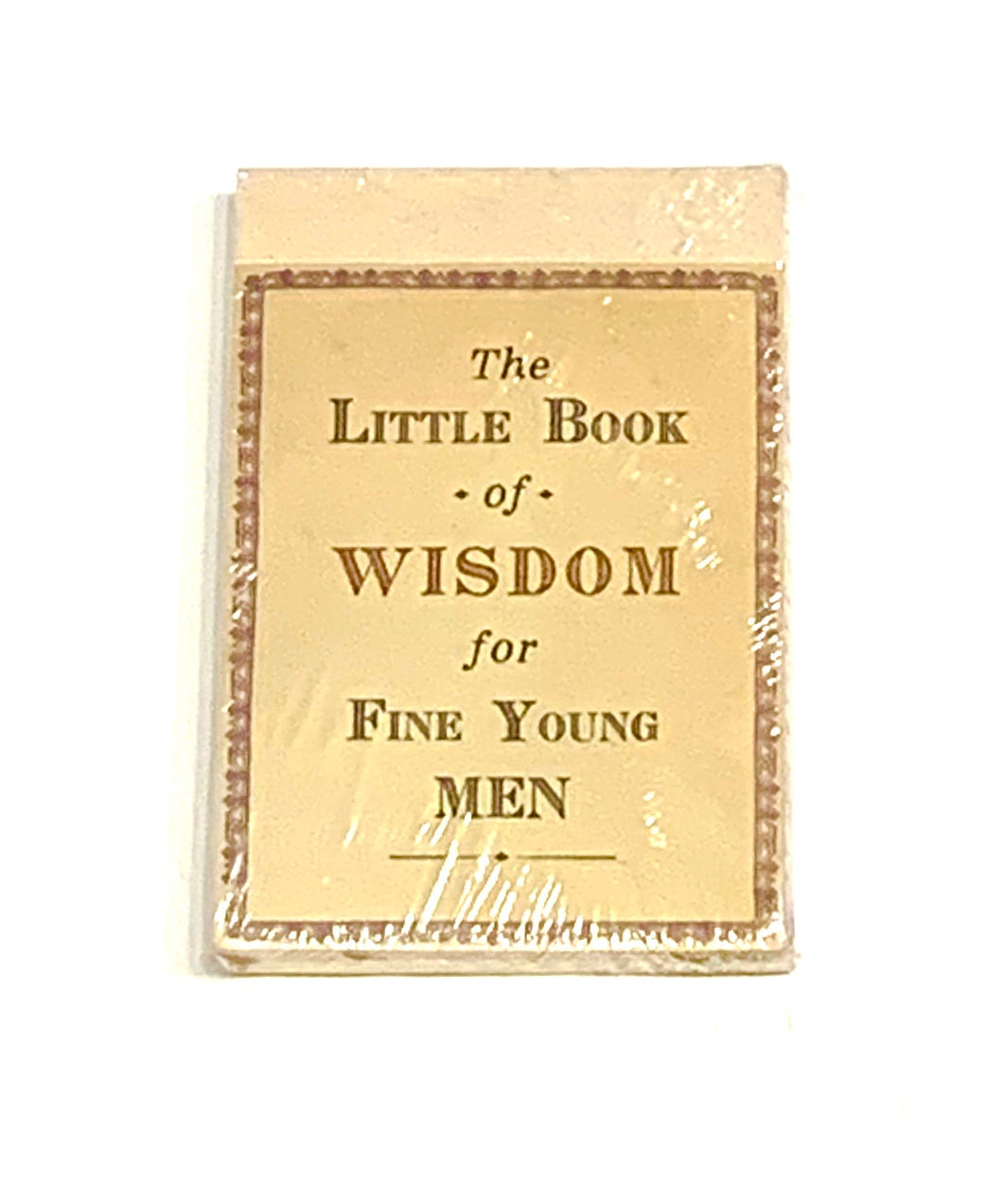 Little Book of Wisdom for Fine Young Men
