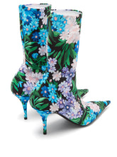 Load image into Gallery viewer, Wild flower-printed knife bootie