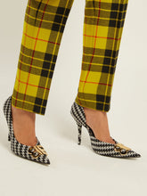 Load image into Gallery viewer, Houndstooth BB pumps