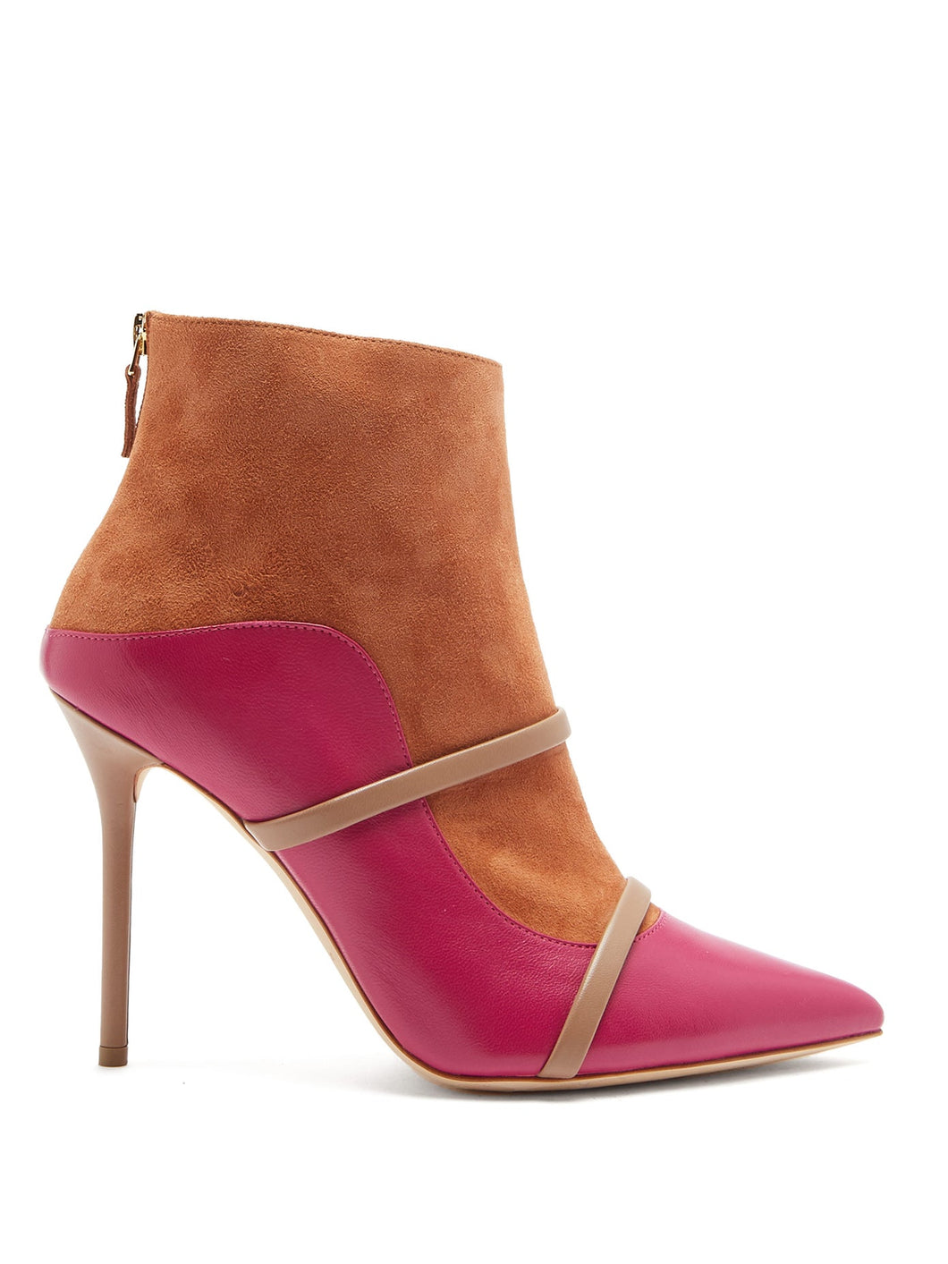 Madison leather and suede ankle boots