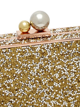 Load image into Gallery viewer, Clara crystal-embellished box clutch