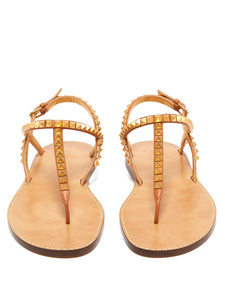 Rockstud No Limit leather sandals