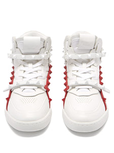 Rockstud Amor high-top leather trainers