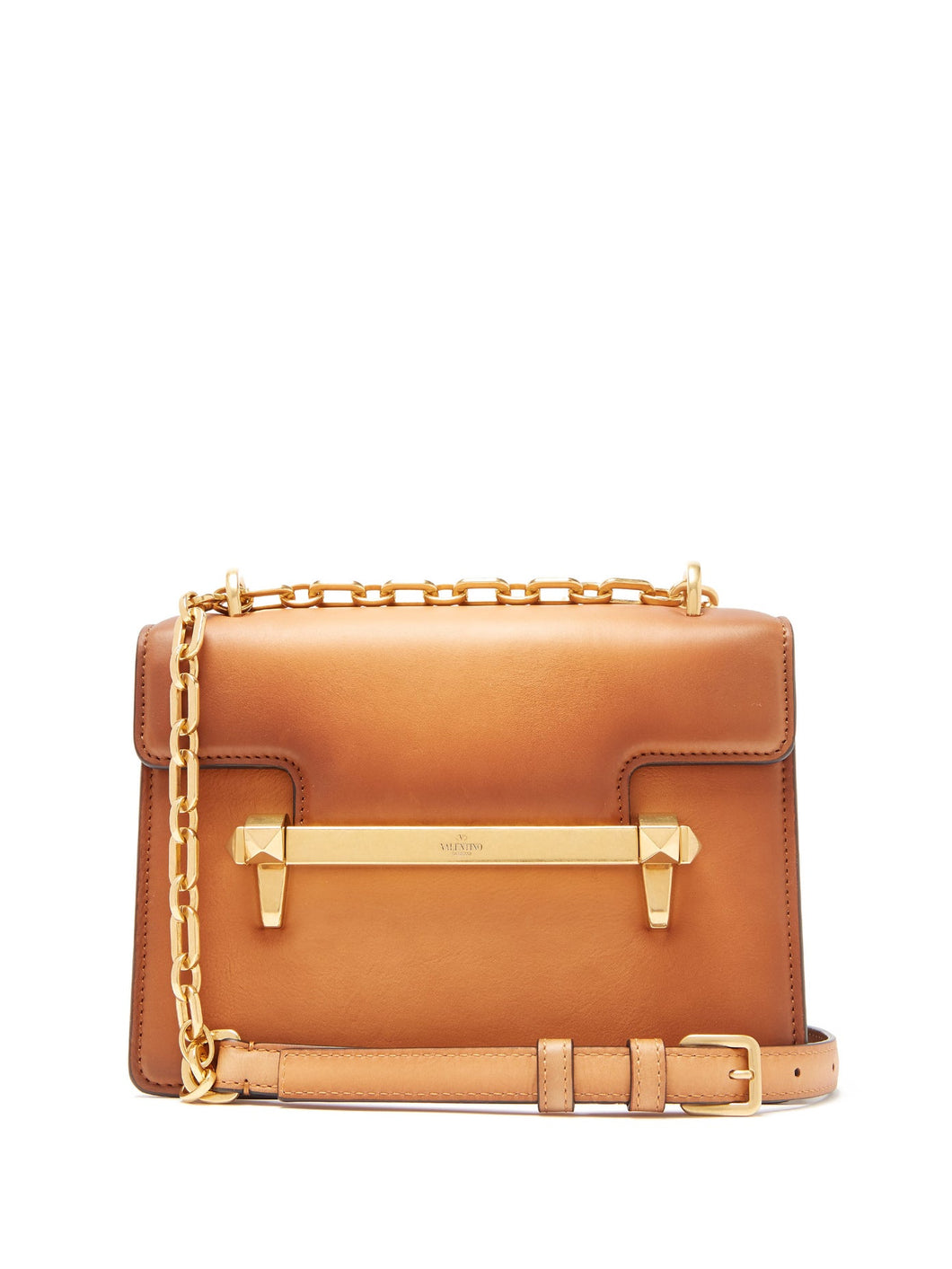 Uptown small leather cross-body bag