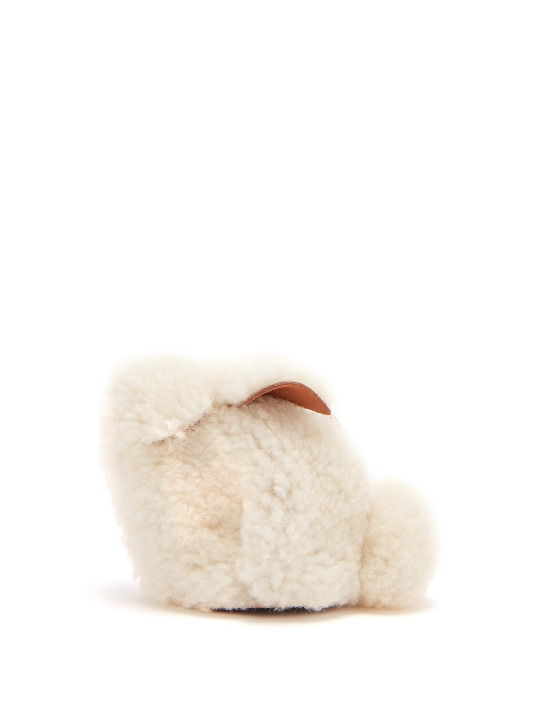 Bunny shearling coin purse