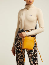 Load image into Gallery viewer, Roy mini leather bucket bag