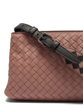 Load image into Gallery viewer, Intrecciato leather cross-body bag