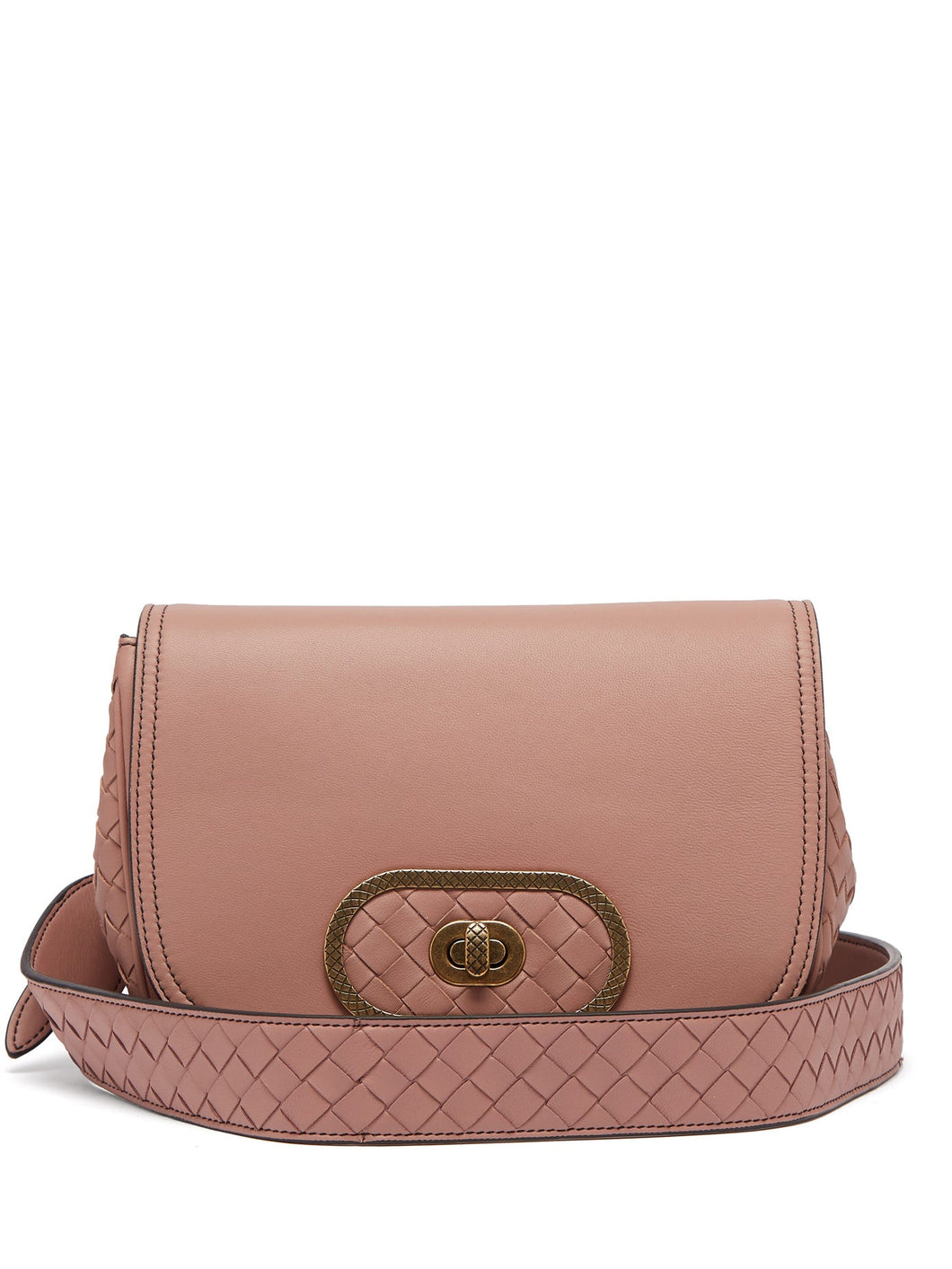BV Luna leather cross-body bag