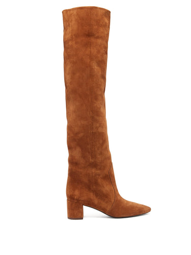 Lou suede over-the-knee boots