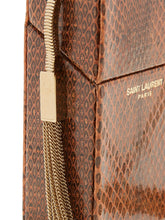Load image into Gallery viewer, Smoking Minaudière leather cross-body bag