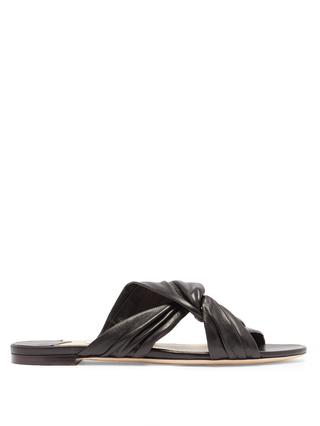 Lela leather slides