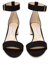 Load image into Gallery viewer, Jaimie 40 block heel suede sandals