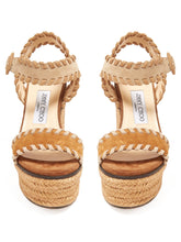 Load image into Gallery viewer, Abigail 100 espadrille wedge sandals