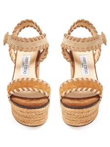 Abigail 100 espadrille wedge sandals