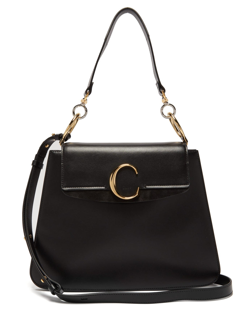 Medium The C leather shoulder bag
