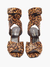 Load image into Gallery viewer, Oak leopard-print calf-hair sandals