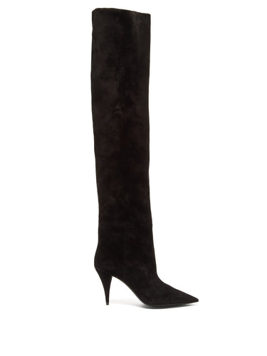 Kiki over-the-knee suede boots