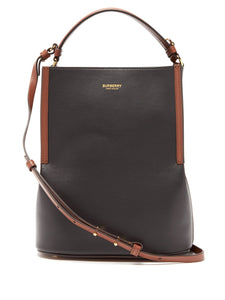 Peggy leather bucket bag