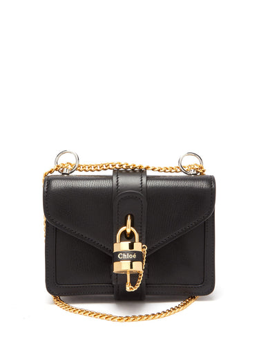Aby mini leather shoulder bag