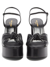 Load image into Gallery viewer, Bianca knotted leather platform sandals