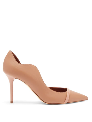 Morrissey point-toe nappa-leather d'Orsay pumps