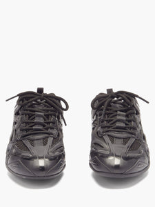 Drive panelled trainers