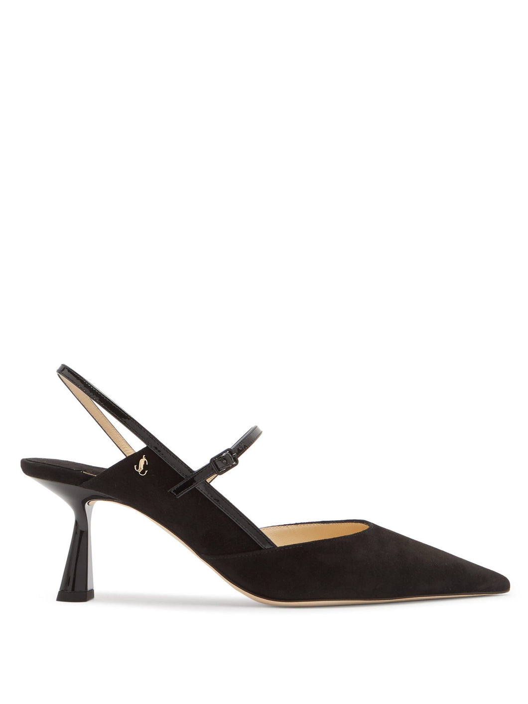 Ray 65 suede slingback pumps