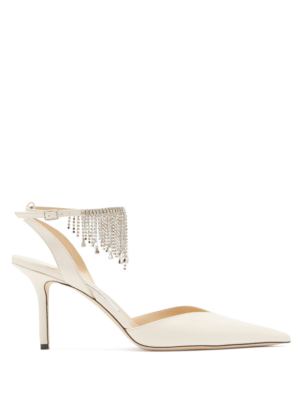 Birtie 85 crystal-embellished leather sandals