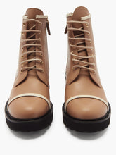 Load image into Gallery viewer, Bryce leather combat boots