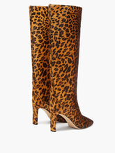 Load image into Gallery viewer, Mahesa 85 leopard-print pony hair knee boots