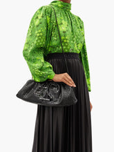 Load image into Gallery viewer, Cloud XL crocodile-effect leather cross-body bag