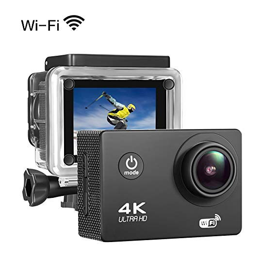 4K Ultra HD Action Camera (Waterproof)