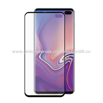 Glass screen protector for Galaxy S10