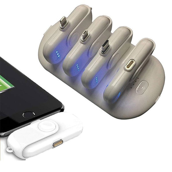Mini magnetic charging bank for iphone and Android