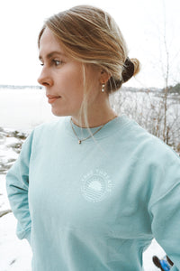 Dropped Shoulder Sunshine Sweatshirt