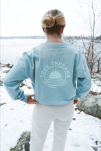 Load image into Gallery viewer, Dropped Shoulder Sunshine Sweatshirt