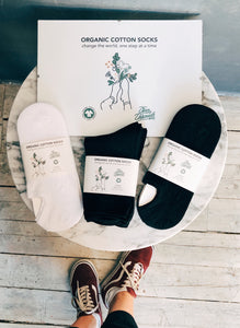 Organic Cotton Socks - sneaker