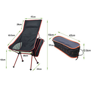 Portable Lightweight Moon Chair, Suitable for Fishing, Camping, BBQ, and Garden relaxing. at wurastore.com