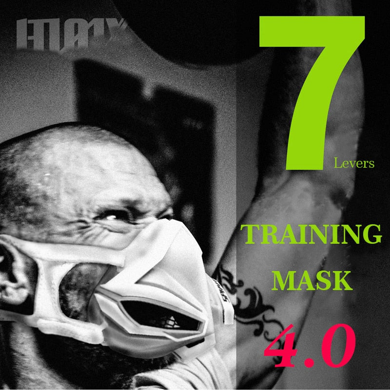 wurastore 4.0  Cardio Face Mask For  Fitness Workout  Training