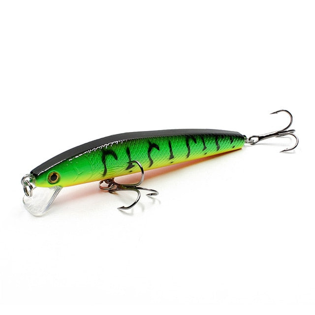 Minnow Bass Artificial Fishing Lure Hard Bait Baits