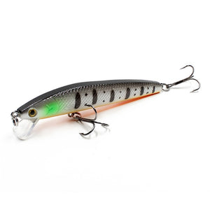 Fishing Lure Hard Bait 9.5cm 9g Minnow Bass Artificial Baits Pike Carp Lures. at wura store.com