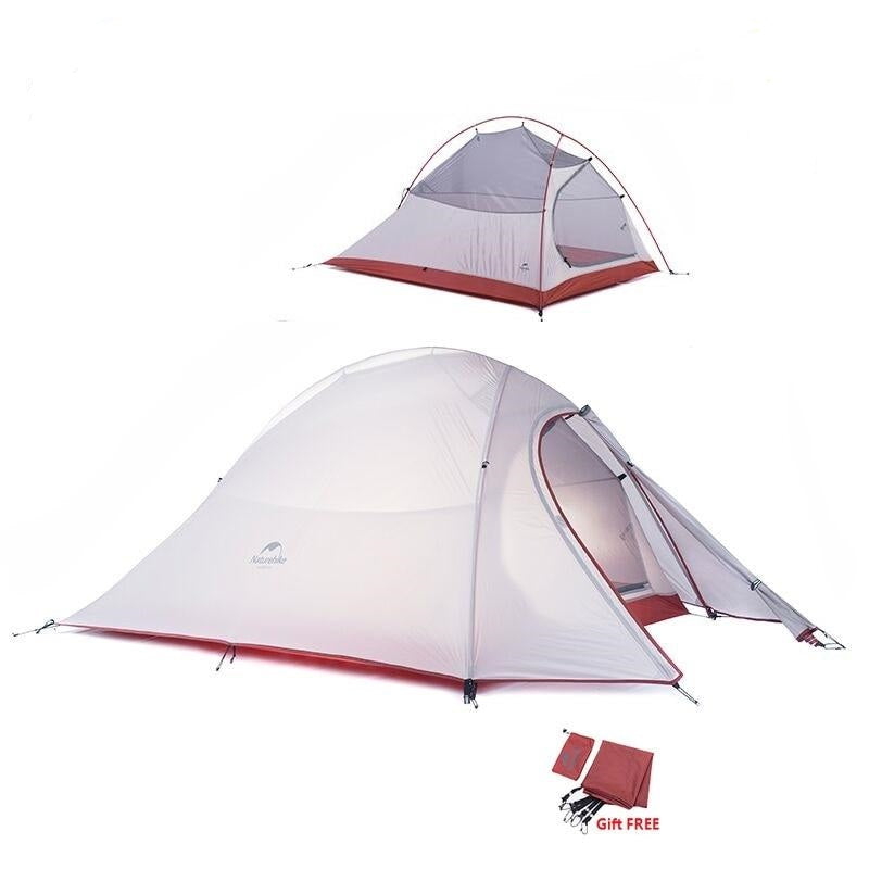 3 Man Ultralight Tent Camp with Mat Cloud Up Series. at wurastore.com