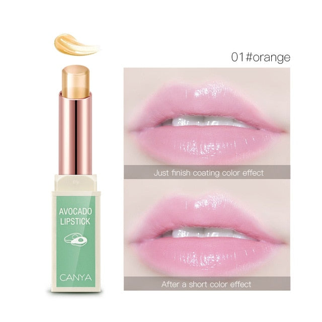 Color changing Anti-cracking Lipstick Gloss Balm