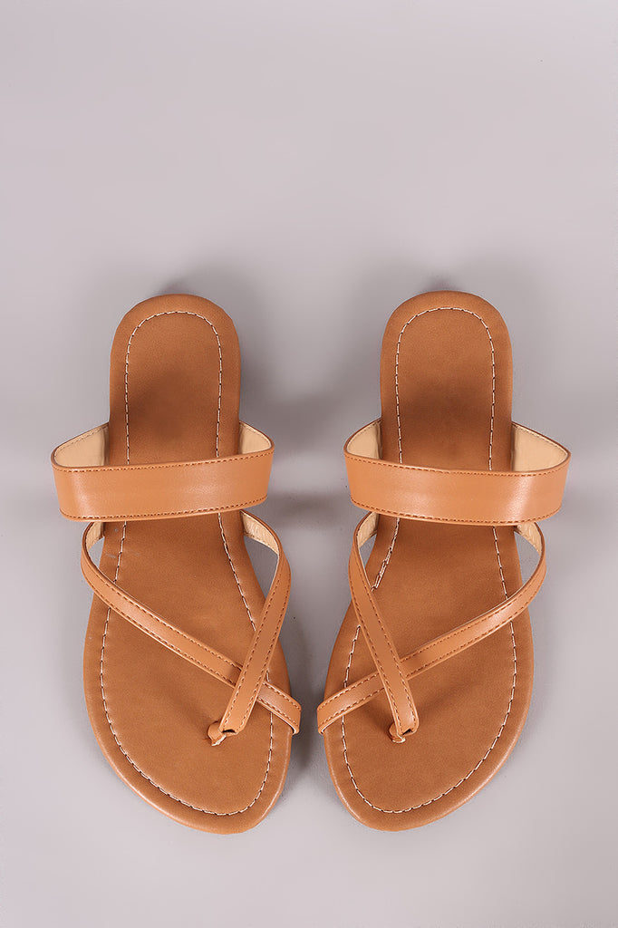 Liliana Toe Ring Slide Flat Sandal